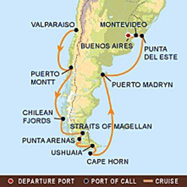 South America Infinity - Cruise to south america