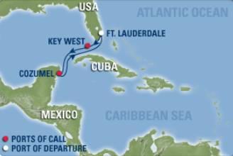 West Carib Enchantment - West caribbean cruise